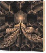 Hive Wood Print