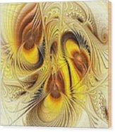 Hive Mind Wood Print