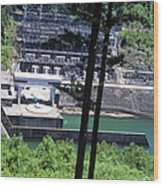 Hiwassee Dam 2 Wood Print