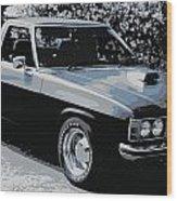 Hj Holden Ute Wood Print