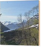 Hjorundfjord From Slogan Wood Print