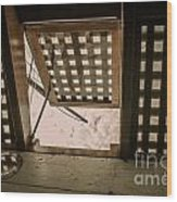Hms Bounty Hatchway Below Deck Wood Print