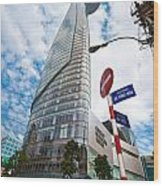 Ho Chi Minh City - Bitexco Financial Tower  Wood Print
