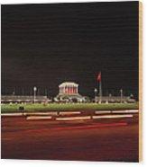 Ho Chi Minh Mausoleum Hanoi Wood Print