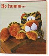 Ho Hummm Tiger Wood Print