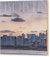 Hoboken  Wood Print