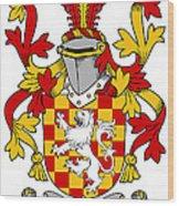 Hoey Coat Of Arms Irish Wood Print