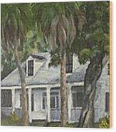 Hoffman House Wood Print