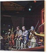 Hogmaw Band Wood Print