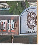 Hog's Breath Saloon 1 Key West - Hdr Style Wood Print