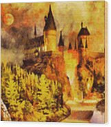 Hogwarts College Wood Print