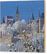 Hohenzollern Castle Germany Wood Print