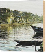 Hoi An Dawn 01 Wood Print