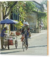 Hoi An Early Morning Wood Print