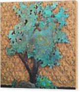 Hokkidachi Copper Bonsai Wood Print