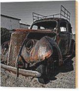 Holbrook Az - Wigwam Motel 003 Wood Print