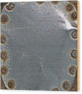 Hole Patch 4 John Muir Woods Wood Print