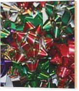 Holiday Bows Wood Print