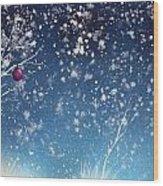 Holiday Card 24 Wood Print