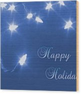 Holiday Card I Wood Print