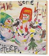 Holiday Cheer Wood Print