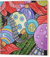 Holiday Decorations Wood Print