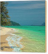 Holiday Destination Wood Print