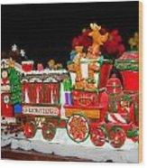 Holiday Express Wood Print