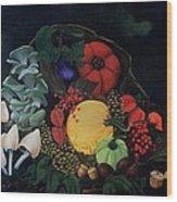 Holiday Harvest Wood Print