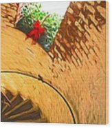 Holiday In The Lighthouse Wood Print