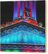 Holiday Lights 2012 Denver City And County Building E3 Wood Print