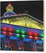 Holiday Lights 2012 Denver City And County Building L5 Wood Print