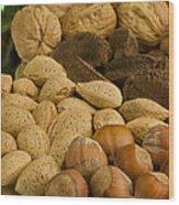 Holiday Nuts Wood Print