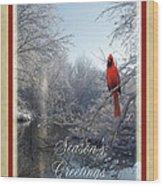 Holiday Season 2013 Wood Print by Teresa Schomig