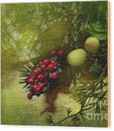 Holiday Season Wood Print