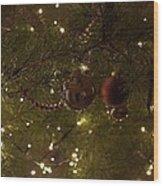 Holiday Sparkle Wood Print