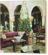 Holiday Time Inside Ringling Wood Print