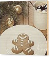 Holiday Treats Wood Print by Juli Scalzi