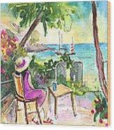 Holidays In Saint Martin Wood Print