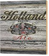 Holland Ale Wood Print
