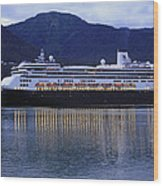 Holland America Volendam Wood Print