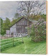 Holland Barn Wood Print