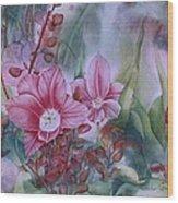 Holland Blooms Wood Print