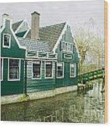 Holland House Wood Print