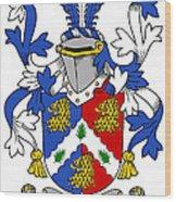 Holligan Coat Of Arms Irish Wood Print