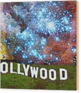 Hollywood 2 - Home Of The Stars By Sharon Cummings Wood Print