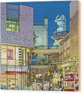 Hollywood And Highland Center Hoillywood Ca  Wood Print