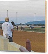 Hollywood Casino At Charles Town Races - 12128 Wood Print