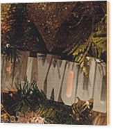 Hollywood Holidays Wood Print