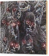 Holocaust A World In Mourning Wood Print